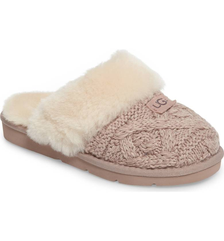 d8fe61cdf59 UGG Cozy Cable in Dusk | Integritas Shoes
